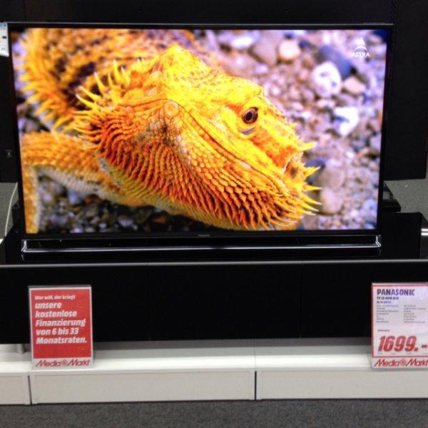 Panasonic Premiumfernseher im Jubiläumsangebot im Media Markt Köln Kalk!