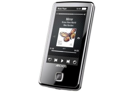 [Dealclub.de] Archos 30C Vision 8GB Touchscreen MP3-Player (Refurbished) für 15€