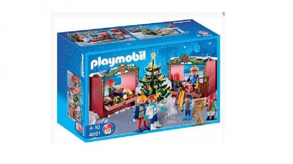 (Amazon WHD) In 9 Monaten ist Weihnachten… Playmobil 4891 Weihnachtsmarkt für 9,87€ - 10,77€