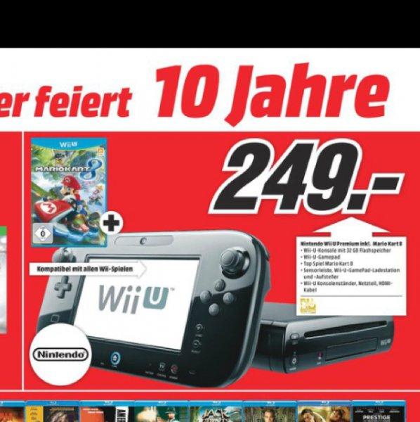 Wii u Premium pack mit Mario Kart 8 Lokal MM Köln Arcarden für 249,00 EUR