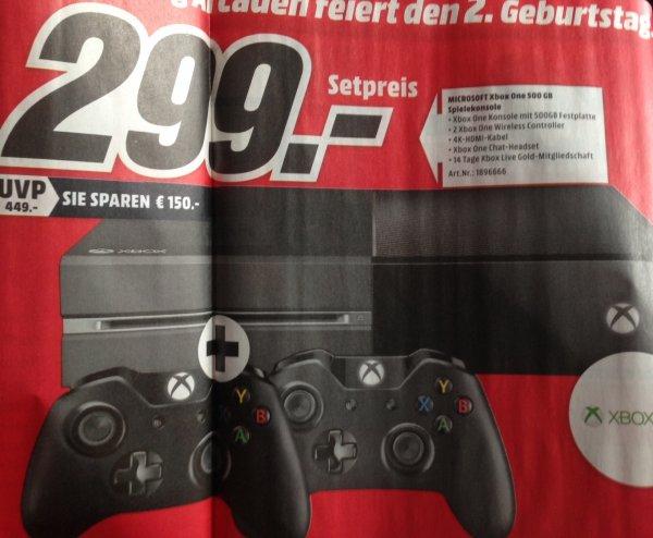 [MM München Pasing] Xbox One mit 2. Controller für 299€