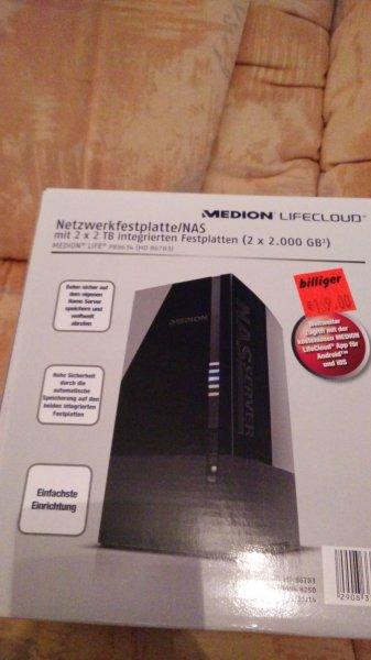 Medion Lifcloud P89634 (MD  86783) 4 TB Dual Bay
