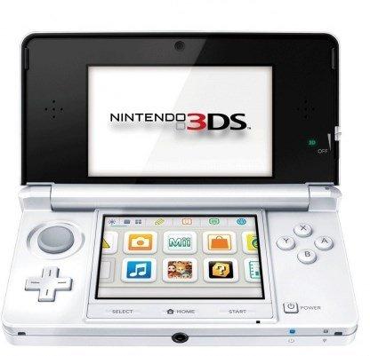 Nintendo 3DS Konsole - Schneeweiß nur 119,99 €