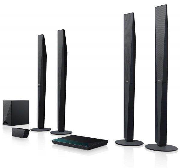 [Amazon] Sony BDV-E6100 5.1 Blu-ray Heimkinosystem (1000 Watt, 3D, W-LAN, Bluetooth, NFC) für 299,00€