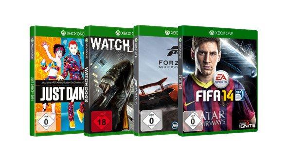 [XBOX One] 3 (ältere) Spiele für 45€ im Microsoft Store - Disk Version