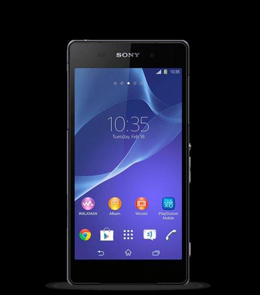 Sony Xperia Z2 16GB in Schwarz für 299€ @smartkauf