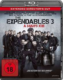 [Lokal Mediamarkt Bielefeld) The Expendables 3 BluRay - A Man's Job - Extended Director's Cut für 9,-€