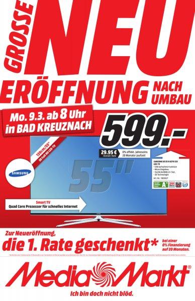 "[Media-Markt Lokal -> Bad Kreuznach ""Neueröffnung"" 5% ab 99€*  TV's, Digitalkamera X-M1, XBOX One, 4 Blu-Rays für 22€, ...uvm"