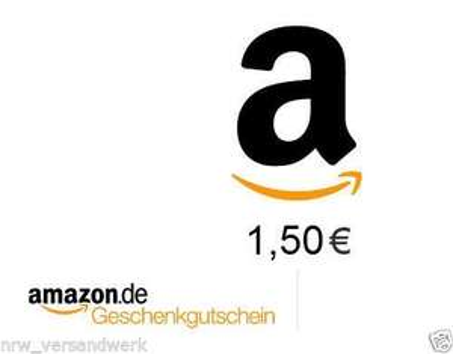 1,50 € EURO AMAZON GUTSCHEIN