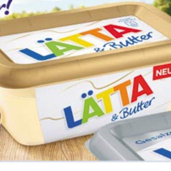 LÄTTA & Butter gratis mit 1ct Gewinn