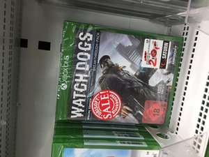 [LOKAL Berlin] Saturn Europacenter Watchdogs Xbox One 20,- und weitere Games