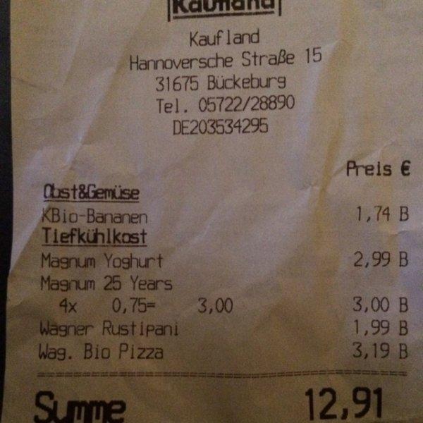 """Lokal?!kaufland magnum 25 years """"marc de champagne"""" eis für 0,75€ 4er-pack"""