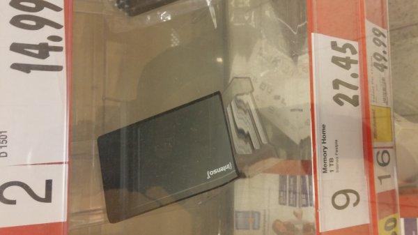 "Intenso 1TB USB 3.0 extrne 2,5"" HDD (Festplatte) für 27,45 € in Goch"