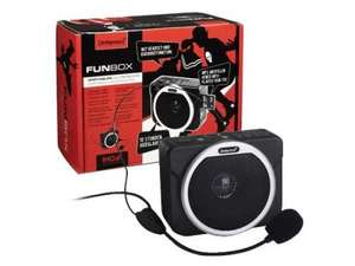 Intenso FunBox - MP3 Player mit portablem Lautsprecher