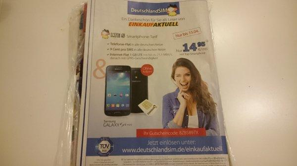 DeutschlandSim LTE S inkl. Galaxy S4 Mini