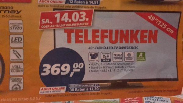 49 Full HD-LED TV 369,-€  *Real Online*