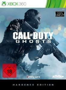 (Saturn.de) Call Of Duty: Ghosts (Hardened Edition)  Xbox 360 15 inkl.