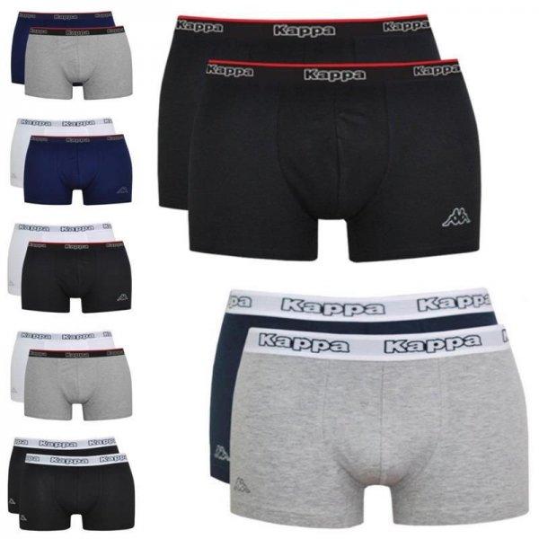 [Ebay WOW] Kappa 6er Pack Boxershorts versch. Farben und Modelle; Größe S-2XL für 19,99€