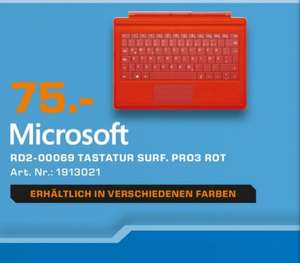 [Lokal Aachen] Microsoft Surface Type Cover 3 für 75€ @ Saturn