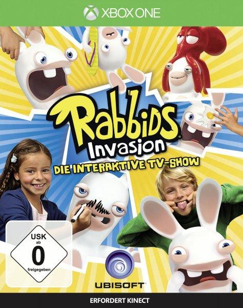 Rabbids Invasion - Die interaktive TV-Show für die X-Box One für 14,99 Euro bei Müller