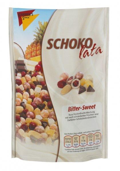 Amazon Prime: Farmer's Snack Schokolata Bitter - Sweet, 5er Pack (5 x 135 g)  Nur 7,67 €