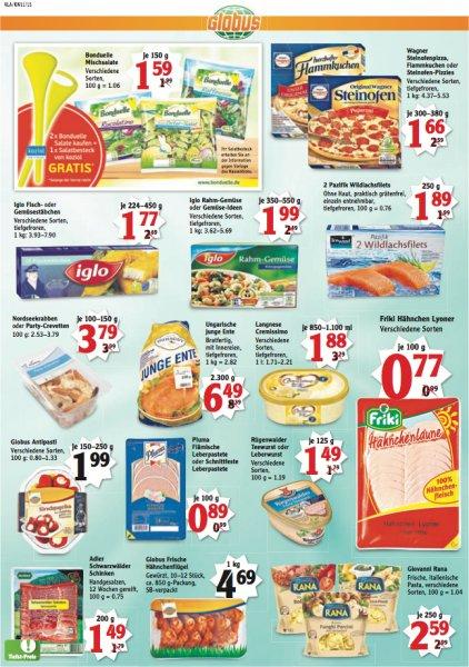 2 x Bonduelle Mischsalate kaufen und 1 Koziol Salatbesteck gratis - Globus