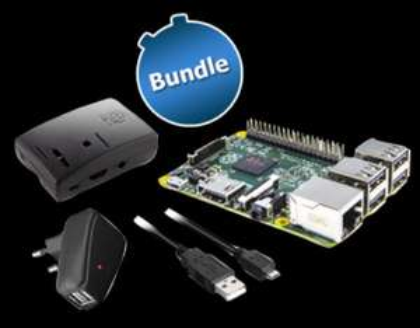 [ZackZack]Bundle: Raspberry Pi 2 Model B + Gehäuse + Netzteil & Kabel