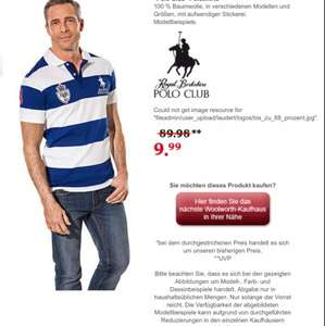 """Polo Club"" Poloshirts Herrenmode"