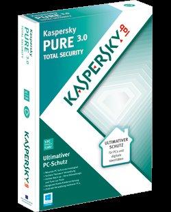 Kaspersky Pure 3.0 Total Security bei Chip für 3 € (Vollversion, 1 Jahr)