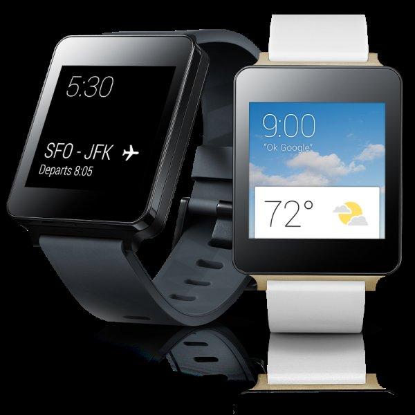 LG G Watch - Smartwatch mit Betriebssystem Android Wear, 1,2-GHz-Prozessor, 400-mAh-Akku und 4 GB Speicher! Begrenztes Angebot für €89,99