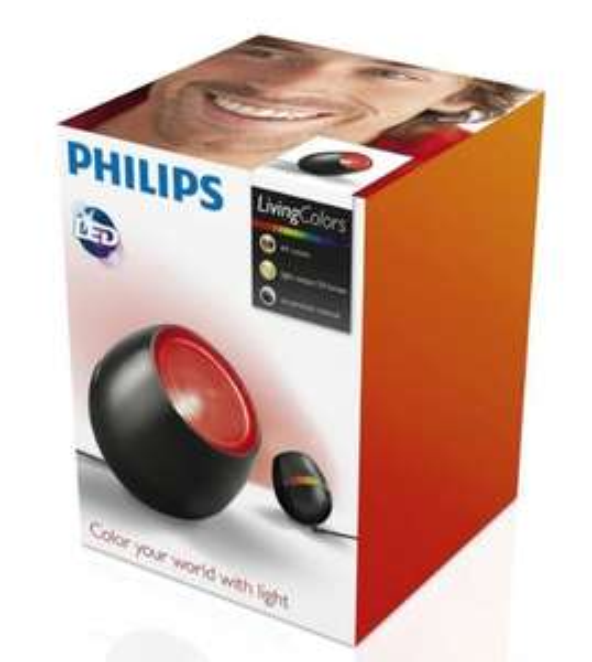 LED Philips LivingColors MICRO schwarz für 23,79 inklusive Versandkosten! Ebay 3..2..1. Deins!