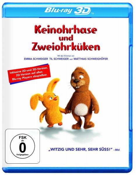 Keinohrhase & Zweiohrküken [3D Blu-ray] für 7,97€ @Amazon.de (Prime)