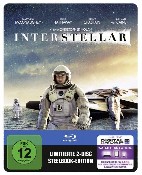 Interstellar Blu-ray Steelbook [cede.de]