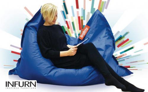 Sitzsack BigBoy bei infurn.com für 49 statt 119 EUR