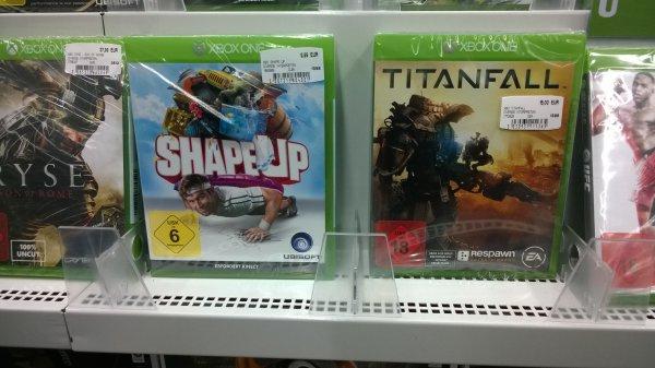 [lokal MediaMarkt Neuss] XBOX One Shape Up 9,99€ & Titanfall 15,00€