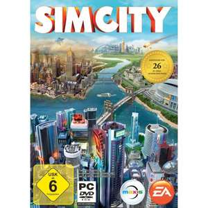 SimCity Key direkt bei Amazon