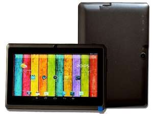 "7"" Tablet A23 Q88 Dual Core 1,5GHz Android 4.4, WIFI, 512MB, 8GB Speicher , Dual Kamera, Bluetooth, in schwarz @Amazon"
