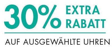 [Amazon.de] 30%Extra-Rabatt auf ausgewählte Uhren! Einige Schnäppchen möglich!