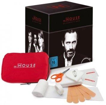 [DVD] Dr. House - Season 1-8 - Limited Edition @ Alphamovies