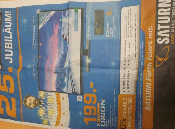 Saturn Orion TV 40 Zoll 199€ (Saturn Fürth)