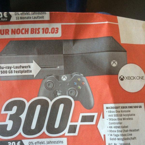 XBox One 500GB (Media Markt Neuss)