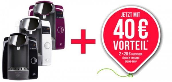 WOW Bosch TASSIMO Joy + 40 EUR Online Gutschein * Heißgetränkemaschine 1300W @ ebay