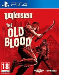 (Zavvi) UK Version Wolfenstein The old Blood PS4 18,96 €