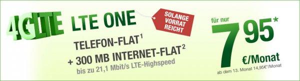 {Smartmobil im O2 Netz } All-net Flat mit LTE 7,95 Erste 12 Monate danach 14,95