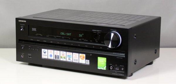 AV Receiver Onkyo TX-NR616 (Schwarz) 7.2 B-Ware 209,00€