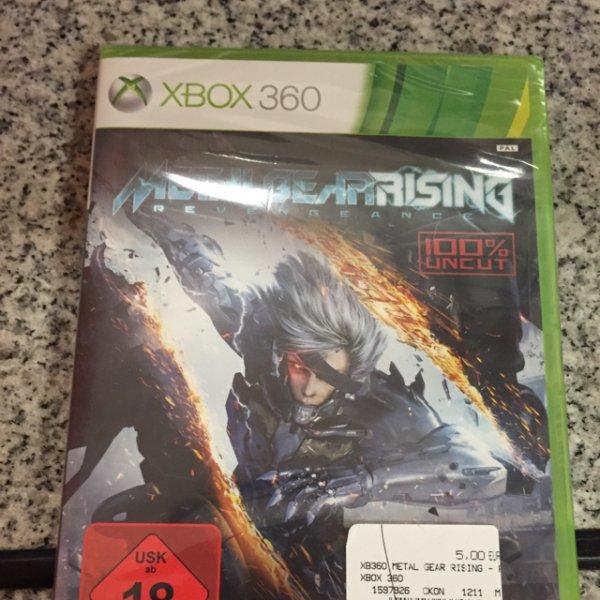 Metal Gear Rising Revengeance, Xbox 360, Saturn Düsseldorf Flingern
