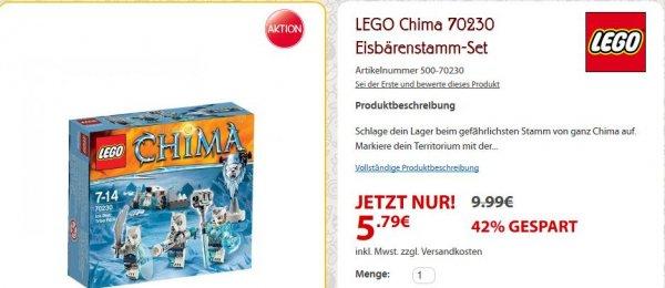 [SpieleMax.de] LEGO Chima 70230 Eisbärenstamm-Set für 5,79€ - 4,20€ sparen