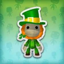 "Little Big Planet ""Saint Patrick's Day""-Kostüm PS4 / PS3 / PSVita"
