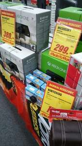 [Media Markt]Kirchheim Teck Xbox One 500 GB 299 €