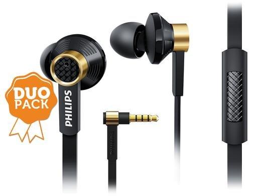 Sehr gute InEars von Philips TX2 (Duopack) 54% unter Vergleichspreis